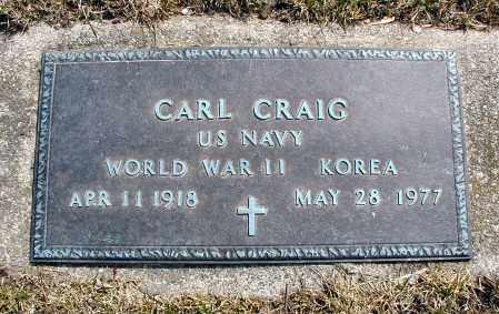 CRAIG, CARL - DuPage County, Illinois   CARL CRAIG - Illinois Gravestone Photos