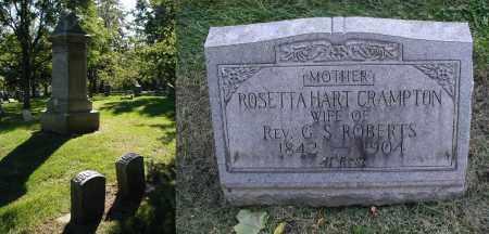 CRAMPTON, ROSETTA - DuPage County, Illinois | ROSETTA CRAMPTON - Illinois Gravestone Photos