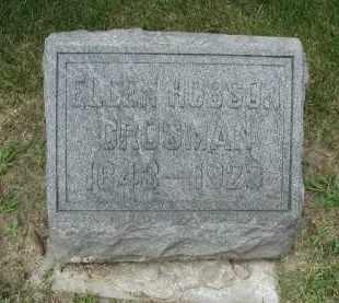 HOBSON CROSMAN, ELLEN - DuPage County, Illinois | ELLEN HOBSON CROSMAN - Illinois Gravestone Photos