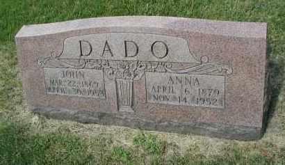 DADO, ANNA - DuPage County, Illinois | ANNA DADO - Illinois Gravestone Photos