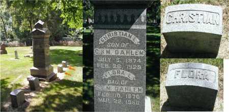 DAHLEM, CHRISTIAN L. - DuPage County, Illinois | CHRISTIAN L. DAHLEM - Illinois Gravestone Photos