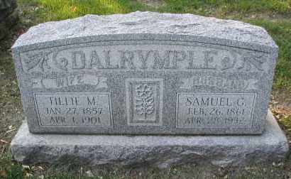DALRYMPLE, SAMUEL G. - DuPage County, Illinois | SAMUEL G. DALRYMPLE - Illinois Gravestone Photos