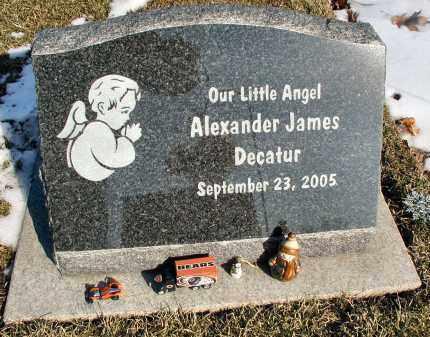 DECATUR, ALEXANDER JAMES - DuPage County, Illinois | ALEXANDER JAMES DECATUR - Illinois Gravestone Photos