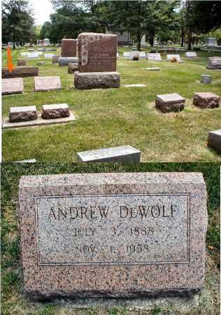 DEWOLF, ANDREW - DuPage County, Illinois   ANDREW DEWOLF - Illinois Gravestone Photos