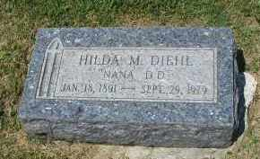 DIEHL, HILDA M. - DuPage County, Illinois | HILDA M. DIEHL - Illinois Gravestone Photos