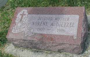 DIETZEL, NORENE A. - DuPage County, Illinois   NORENE A. DIETZEL - Illinois Gravestone Photos
