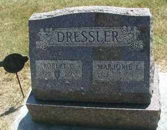 DRESSLER, ROBERT C. - DuPage County, Illinois | ROBERT C. DRESSLER - Illinois Gravestone Photos