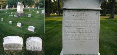DUDLEY, AUGUSTUS - DuPage County, Illinois | AUGUSTUS DUDLEY - Illinois Gravestone Photos