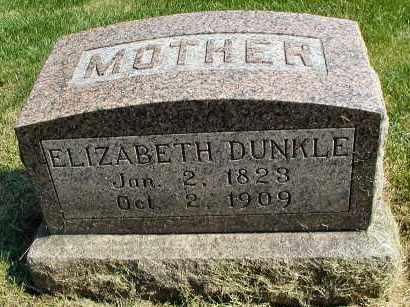 DUNKLE, ELIZABETH - DuPage County, Illinois | ELIZABETH DUNKLE - Illinois Gravestone Photos
