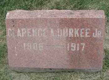 DURKEE, CLARENCE A. JR. - DuPage County, Illinois | CLARENCE A. JR. DURKEE - Illinois Gravestone Photos