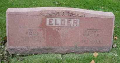 ELDER, EMMA - DuPage County, Illinois | EMMA ELDER - Illinois Gravestone Photos
