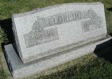 ELDREDGE, RICHARD W. - DuPage County, Illinois | RICHARD W. ELDREDGE - Illinois Gravestone Photos