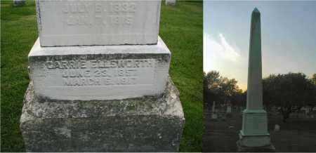 ELLSWORTH, CARRIE - DuPage County, Illinois | CARRIE ELLSWORTH - Illinois Gravestone Photos