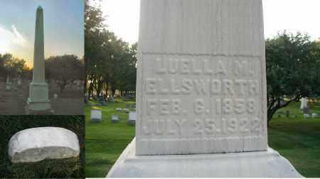 ELLSWORTH, LUELLA M. - DuPage County, Illinois   LUELLA M. ELLSWORTH - Illinois Gravestone Photos