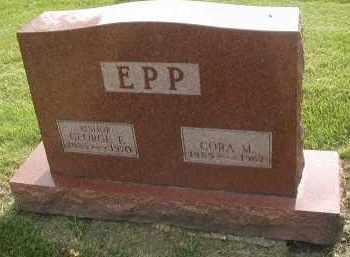 EPP, CORA M. - DuPage County, Illinois | CORA M. EPP - Illinois Gravestone Photos