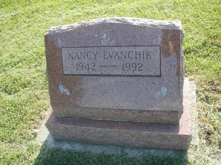 EVANCHIK, NANCY - DuPage County, Illinois | NANCY EVANCHIK - Illinois Gravestone Photos
