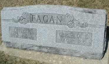 FAGAN, GERTRUDE E. - DuPage County, Illinois | GERTRUDE E. FAGAN - Illinois Gravestone Photos