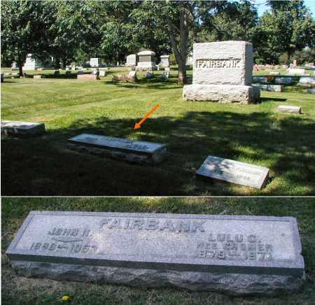 CROMER FAIRBANK, LULU C. - DuPage County, Illinois   LULU C. CROMER FAIRBANK - Illinois Gravestone Photos