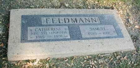 FELDMANN, SAMUEL - DuPage County, Illinois | SAMUEL FELDMANN - Illinois Gravestone Photos