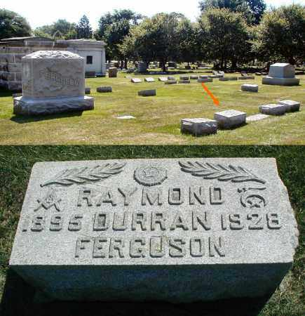 FERGUSON, RAYMOND DURRAN - DuPage County, Illinois   RAYMOND DURRAN FERGUSON - Illinois Gravestone Photos