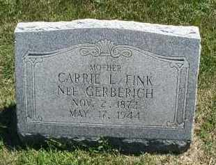 FINK, CARRIE L. - DuPage County, Illinois | CARRIE L. FINK - Illinois Gravestone Photos