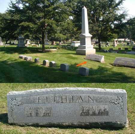 FITHIAN, MARON A. - DuPage County, Illinois | MARON A. FITHIAN - Illinois Gravestone Photos