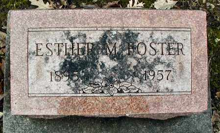 FOSTER, ESTHER M. - DuPage County, Illinois | ESTHER M. FOSTER - Illinois Gravestone Photos