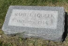 FOUCEK, MARIE L. - DuPage County, Illinois | MARIE L. FOUCEK - Illinois Gravestone Photos