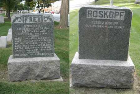 FREY, AMANDA - DuPage County, Illinois | AMANDA FREY - Illinois Gravestone Photos