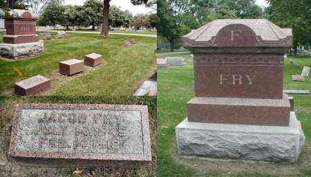 FRY, JACOB - DuPage County, Illinois | JACOB FRY - Illinois Gravestone Photos