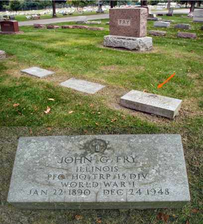 FRY, JOHN G. - DuPage County, Illinois   JOHN G. FRY - Illinois Gravestone Photos