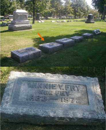 FRY, MINNIE V. - DuPage County, Illinois | MINNIE V. FRY - Illinois Gravestone Photos