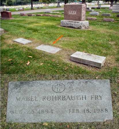 FRY, MABEL - DuPage County, Illinois | MABEL FRY - Illinois Gravestone Photos