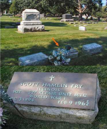 FRY, SCOTT HAMLIN - DuPage County, Illinois | SCOTT HAMLIN FRY - Illinois Gravestone Photos