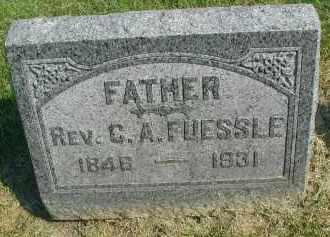 FUESSLE, C. A. - DuPage County, Illinois | C. A. FUESSLE - Illinois Gravestone Photos