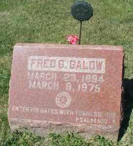 GALOW, FRED G. - DuPage County, Illinois | FRED G. GALOW - Illinois Gravestone Photos