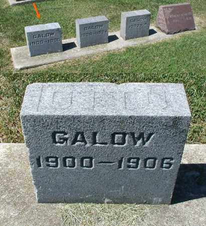 GALOW, OTTO - DuPage County, Illinois | OTTO GALOW - Illinois Gravestone Photos