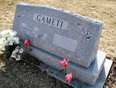 GAMETI, BABURAO R. - DuPage County, Illinois | BABURAO R. GAMETI - Illinois Gravestone Photos
