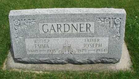 GARDNER, EMMA - DuPage County, Illinois | EMMA GARDNER - Illinois Gravestone Photos