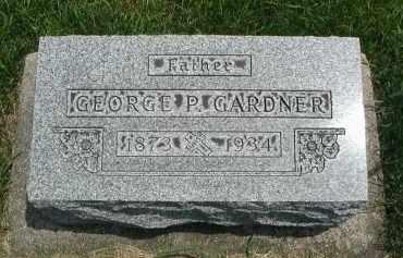 GARDNER, GEORGE P. - DuPage County, Illinois | GEORGE P. GARDNER - Illinois Gravestone Photos