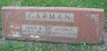 GARMAN, AUSTIN E. - DuPage County, Illinois | AUSTIN E. GARMAN - Illinois Gravestone Photos