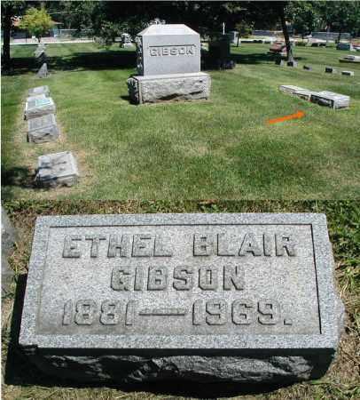 GIBSON, ETHEL - DuPage County, Illinois | ETHEL GIBSON - Illinois Gravestone Photos