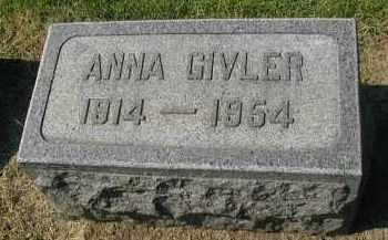 GIVLER, ANNA - DuPage County, Illinois | ANNA GIVLER - Illinois Gravestone Photos