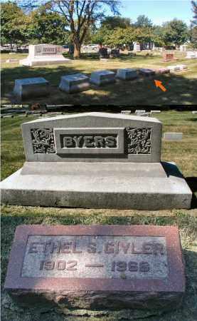 GIVLER, ETHEL S. - DuPage County, Illinois | ETHEL S. GIVLER - Illinois Gravestone Photos
