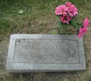 GOODGE, PEARL M. - DuPage County, Illinois | PEARL M. GOODGE - Illinois Gravestone Photos
