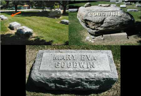 GOODWIN, MARY EVA - DuPage County, Illinois | MARY EVA GOODWIN - Illinois Gravestone Photos