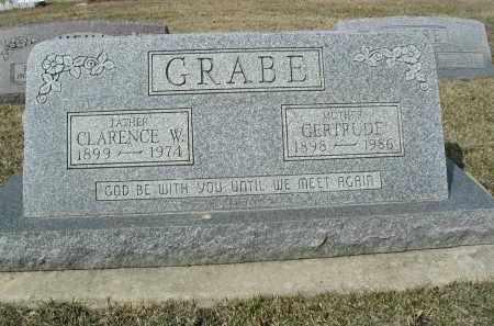 GRABE, CLARENCE W. - DuPage County, Illinois | CLARENCE W. GRABE - Illinois Gravestone Photos