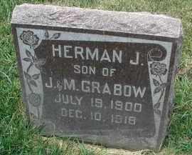 GRABOW, HERMAN J. - DuPage County, Illinois | HERMAN J. GRABOW - Illinois Gravestone Photos