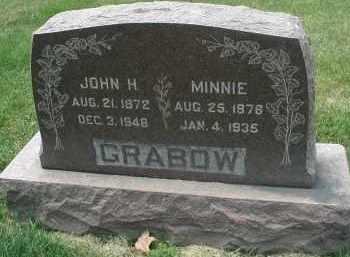 GRABOW, MINNIE - DuPage County, Illinois | MINNIE GRABOW - Illinois Gravestone Photos