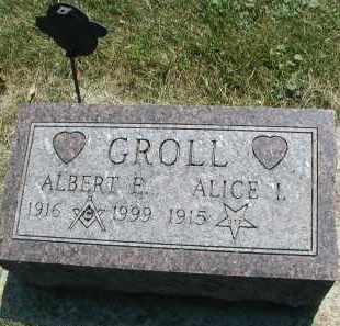 GROLL, ALBERT E. - DuPage County, Illinois | ALBERT E. GROLL - Illinois Gravestone Photos